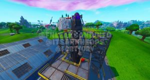"""""""FORTNITE SEASON 10"""" LEAK: THE VISITOR TO BUILD ROCKET AT DUSTY DEPOT (Possible ROCKET LAUNCH EVENT?)"""