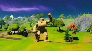 How to find the Pipeman, Hayman, and the Timber Tent Fortnite Trick Shot Challenge