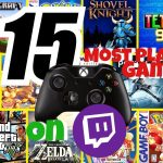 Top 15 Most Played Games on TWITCH 2020